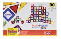 Playmags Магнітний набір 80 ел. PM170