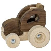goki Машинка дерев'яна Трактор (натуральний)