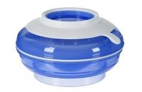 Nuvita Тарілка малюка 4в1 6м+ (синя)