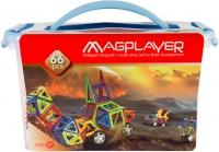 MagPlayer Конструктор магнитный 66 ед. (MPT-66)