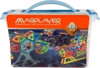 MagPlayer Конструктор магнітний 48 од. (MPT-48)