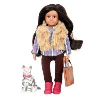 LORI Лялька (15 см) Марія і кішка Мока