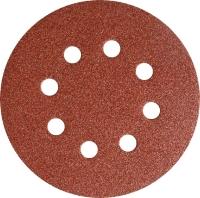 Klingspor Шлифовальный круг (липучка) O125мм P100 с отверстиями PS18EK