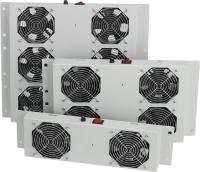 MIRSAN Вент. панель 1 вент., термостат в компл. RAL 7035
