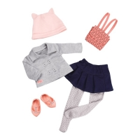 Our Generation Набор одежды для кукол Deluxe для школы