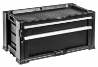 Neo Tools 84-228 Шкаф инструментальный, 2 ящика, ручки, внутренние перегородки, блокировка, место для замка