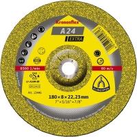 Klingspor Круг шлифовальный по металлу 230х6х22 Kronenflex A24 Extra