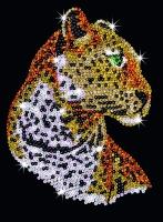 Sequin Art Набір для творчості BLUE Leopard