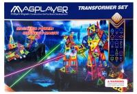 MagPlayer Конструктор магнітний 208 од. (MPB-208)