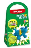 PAULINDA Маса для ліплення Super Dough Fun4one Собака (рухливі очі)