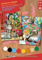 Sequin Art Набір для творчості PAINTING BY NUMBERS JUNIOR-PAIRS Cats
