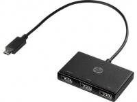 HP USB-C to 3 USB-A Hub