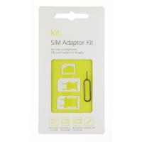 Kit: Nano & Micro SIM Pack with SIM removing tool