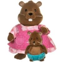 Li`l Woodzeez Набор фигурок - Бобры: мама и малыш