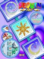 Sequin Art Набір для творчості SEASONS Cosmic,Sun,Moon and Stars