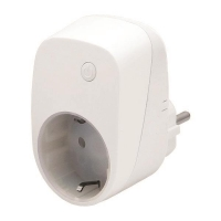 Zipato Розумна розетка Energy Plug in Switch, Z-wave, 230V, макс. 11А, 1.5кВт, білий