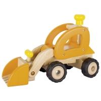 goki Машинка дерев'яна Екскаватор (жовтий)