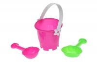 Same Toy Набір для гри з піском - Рожевий (3 од.)