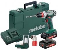 Metabo BS18Quick акумуляторний, 18V 2x2Ah, з / у, кофр, кут.насадка, набір SP (9 шт)