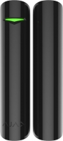 Ajax Бездротовий датчик відкриття дверей/вікна DoorProtect, Jeweller, 3V CR123A, чорний