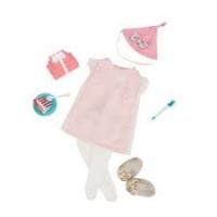 Our Generation Набір одягу для ляльок Deluxe для День народження з аксесуарами
