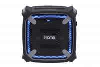 iHome iBT371 Wireless, Waterproof, Shockproof, Accent Lighting, Mic