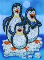 Sequin Art Набір для творчості RED Pepino Penguins