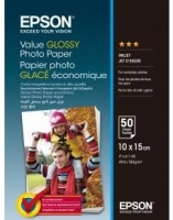 Epson 100mmx150mm Value Glossy Photo Paper
