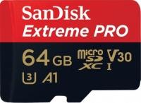 SanDisk Extreme Pro microSD V30 A1 UHS-I U3