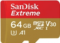 SanDisk Extreme microSD V30 A1 UHS-I U3
