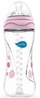 Nuvita Пляшка для годування Mimic 330мл. 4м + Антіколіковая