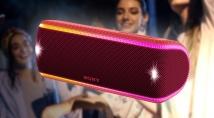 Гаряча новинка - bluetooth-колонка SONY SRS-XB31 у червоному кольорі