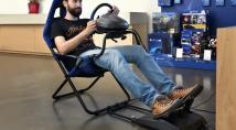 Огляд крісла для гоночних симуляторів Playseat Challenge PlayStation: салон автомобіля у тебе вдома