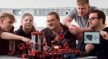 Натхнення майбутнiх iнженерiв Fischertechnik