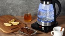 Скляні чайники ARDESTO з LED-підсвічуванням
