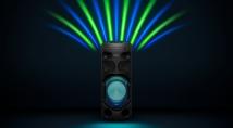 Танцюйте у сяйві спалахів нової потужної аудіосистеми SONY V41D