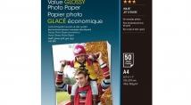 Популярний фотопапір Epson Value Glossy Photo Paper – на 40% дешевше!