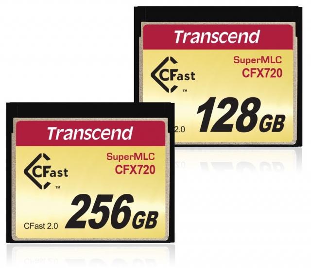 Высокоскоростные и надежные карты памяти Transcend CFX720 CFast 2.0