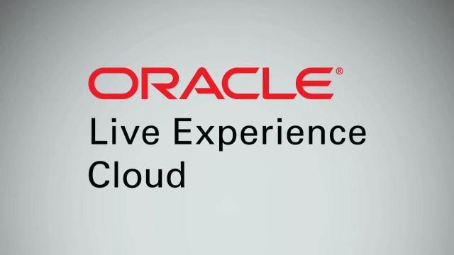 Oracle Live Experience Cloud: вебінар для партнерів