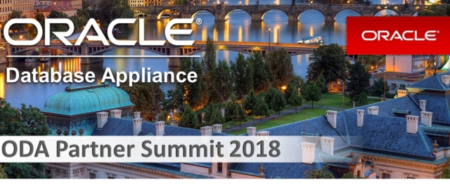 Oracle Partner Summit 2018 у Празі
