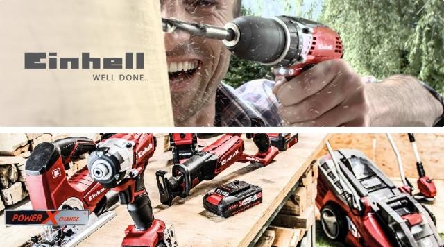 Новий асортимент товарів бренду Einhell