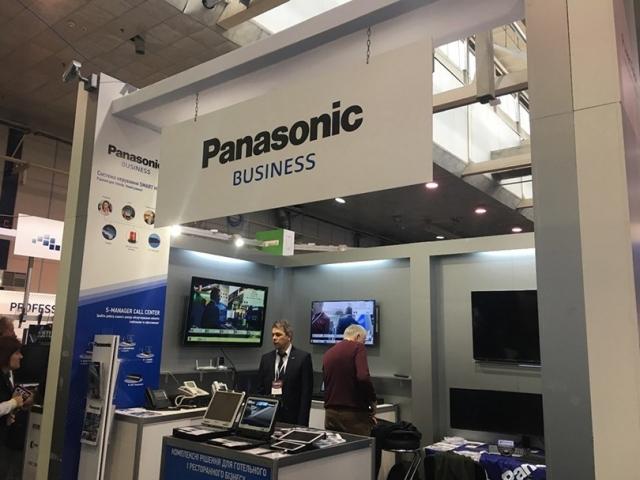 Panasonic представив комплексні рішення для готелів, інформаційних центрів та ресторанів на першому етапі виставки CEE 2019