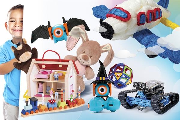 Іграшки та товари для дітей в ERC