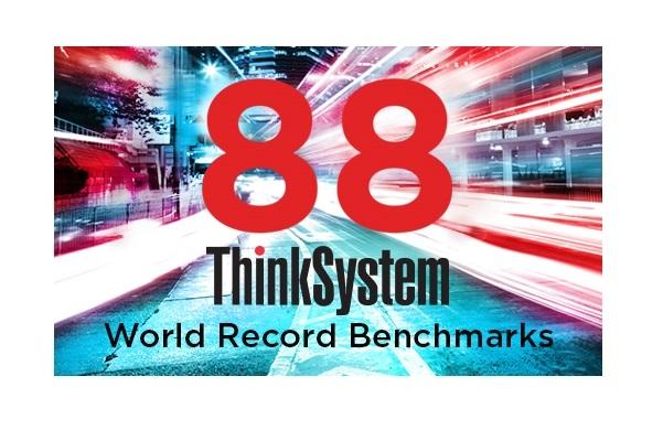 Lenovo ThinkSystem Servers отримали 88 світових рекордів!
