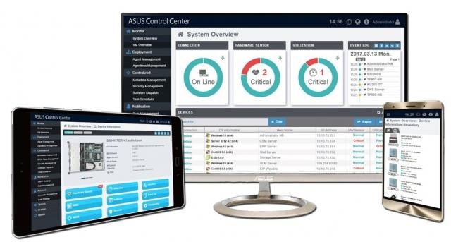 ASUS Control Center. Серверне рішення для управління ПК