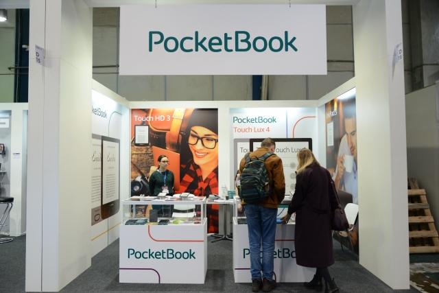 PocketBook на CEE 2019 пропонує новий рівень читання книг разом з PocketBook Touch HD 3