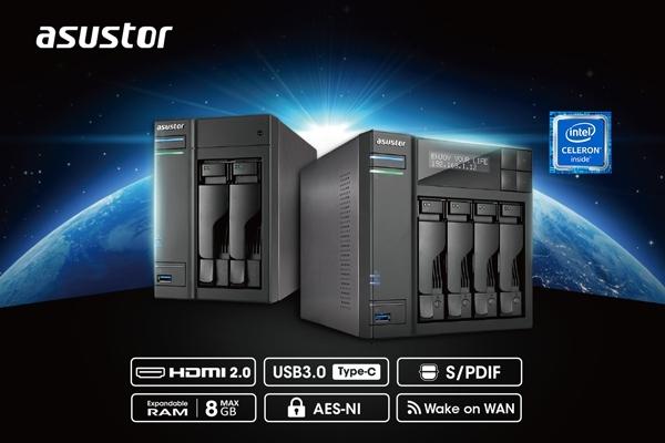 Мережеві сховища нового покоління ASUSTOR