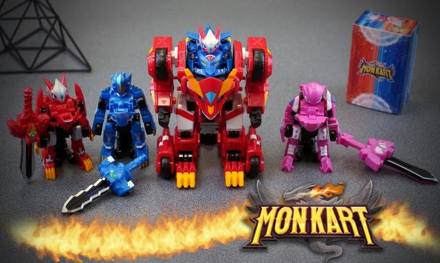Іграшки Monkart - видовищна трансформація