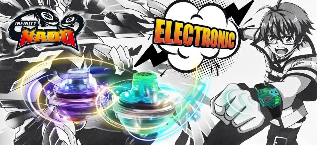 Дзиґи з дистанційним керуванням Infinity NADO серії Electronic