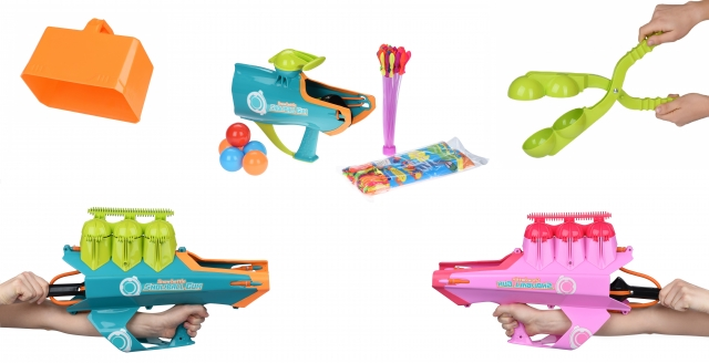 Бластери від Same Toy – ідеальні помічники для снігових та водних «баталій»